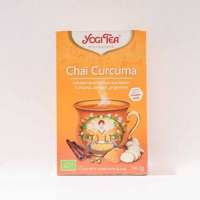 YogiTea Chaï Curcuma